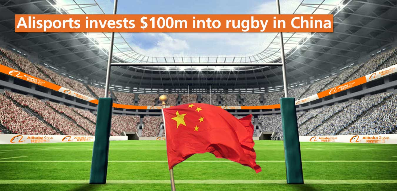 Alisports invests $100m into Rugby in China